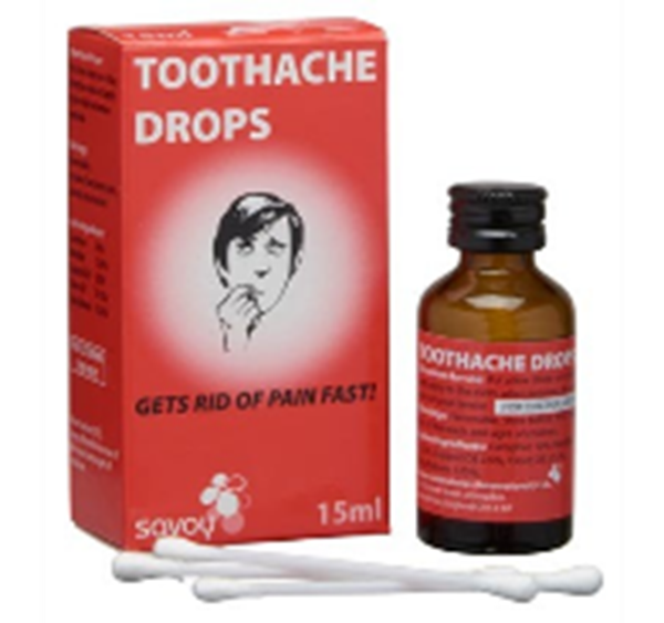 Dowa Health Shop In Kuwait. Savoy Toothache Drops