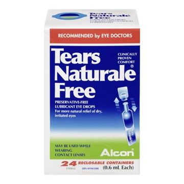 Picture of Tears Naturale Free Lubr. Eye Drops 36 Vials