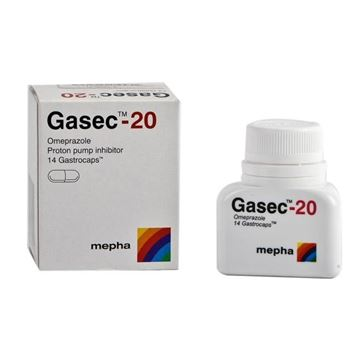 Picture of Gasec 14 Gastrocaps 20mg
