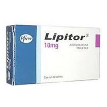 Picture of Lipitor Tablets 10mg