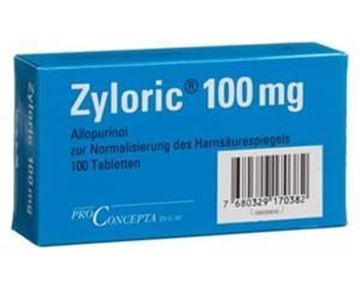 Picture of Zyloric Tablets 100mg