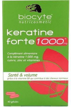 Picture of Biocyte Keratine Forte 1000 mg Capsules