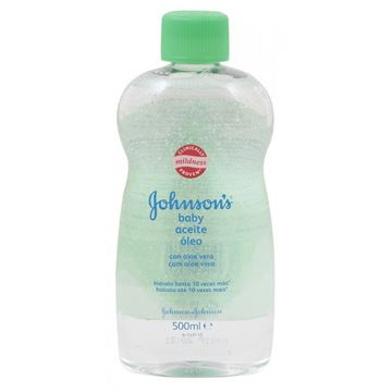 Picture of Johnson's Baby oil with aloe vera