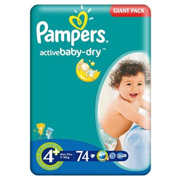 Picture of Pampers Active Baby 4