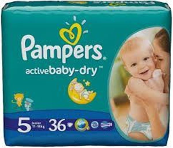 Picture of Pampers Active Baby 5