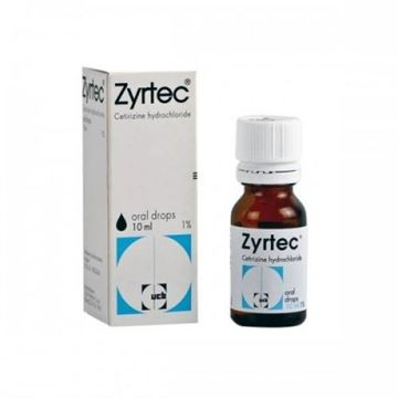 Picture of Zyrtec Oral Drops 10 mg/ml