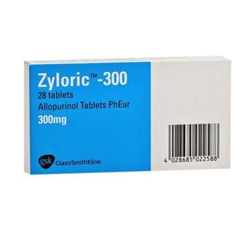 Picture of Zyloric Tablets 300mg