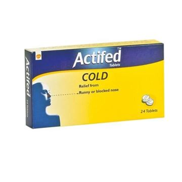 Picture of Actifed Tablets