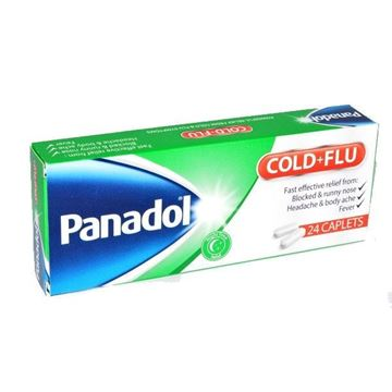 Picture of Panadol Cold & Flu Night Caplets