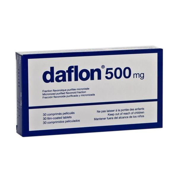 Dowa Health Shop in Kuwait. Daflon 500mg Coated Tab