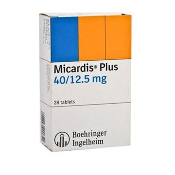 Picture of Micardis Plus Tablets 40/12.5mg