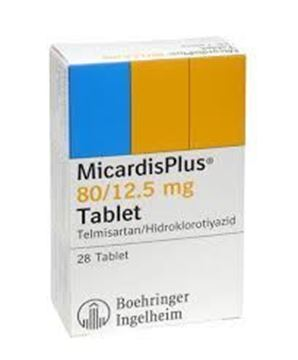 Picture of Micardis Plus Tablets 80/12.5mg