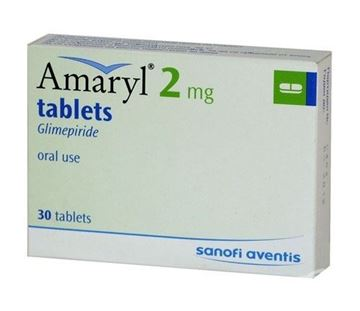 Picture of Amaryl 2mg Tablets