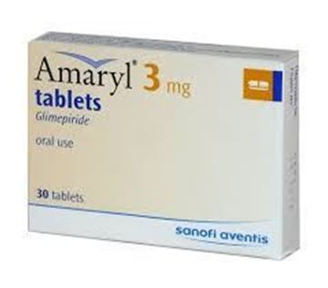 Picture of Amaryl 3mg Tablets