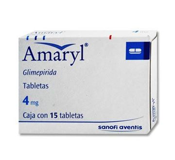 Picture of Amaryl 4mg Tablets