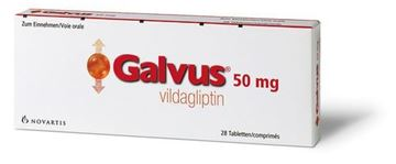 Picture of Galvus Tablets 50mg