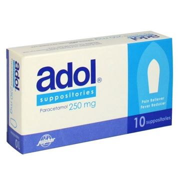 Picture of Adol 250mg Suppositories