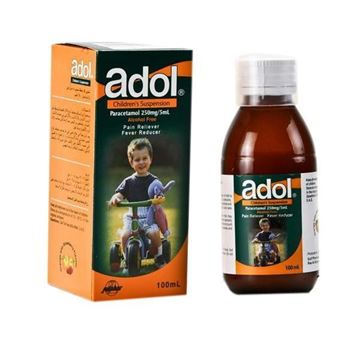 Picture of Adol Children Suspension 250 mg/5ml