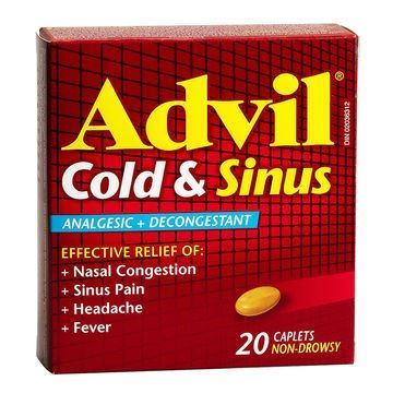 Picture of Advil Cold & Sinus Caplets