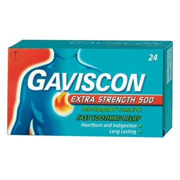 Picture of Gaviscon Extra Strength 500