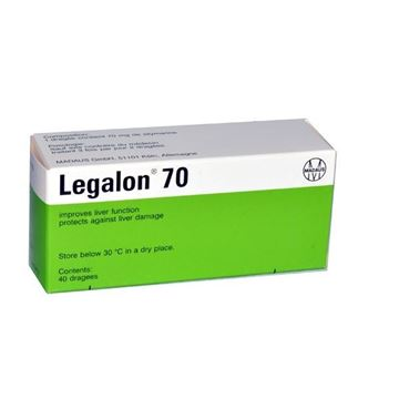 Picture of Legalon Dragees 70mg