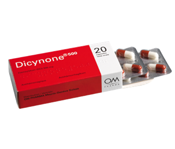 Picture of Dicynone Tablets 500mg