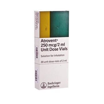Picture of Atrovent 250mcg/2ml Vials