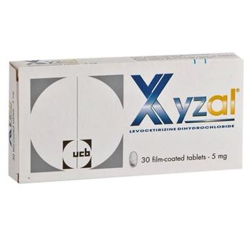 Picture of Xyzal Tablets 5 mg
