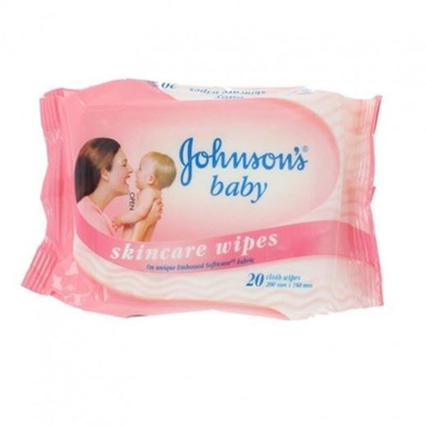 Picture of Johnson's Baby Skincare 20wipes