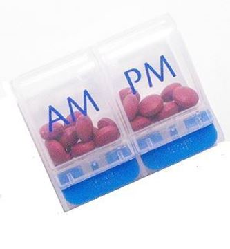 Picture of Care Well AM/PM Pill Box