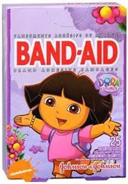 Picture of Band-Aid Dora bandages