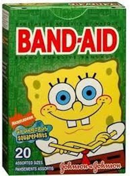 Picture of Band-aid sponge Bob