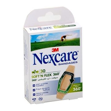 Picture of Nexcare Bandages Soft n Flex 360
