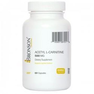 Picture of Bronson Acetyl L-Carnitine 500mg