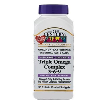 Picture of 21st Century Triple Omega Complex 3-6-9 90 Tabs