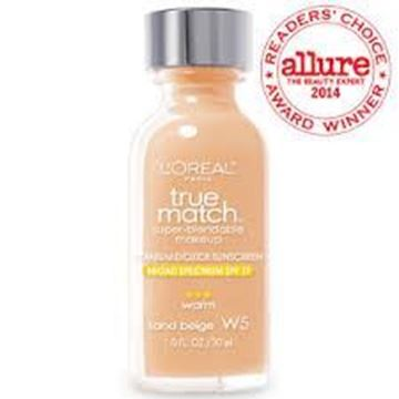 Picture of Loreal True Match™ foundation W5 Sand Beige (Warm)