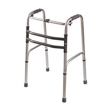 Picture of Folding Walker Silver