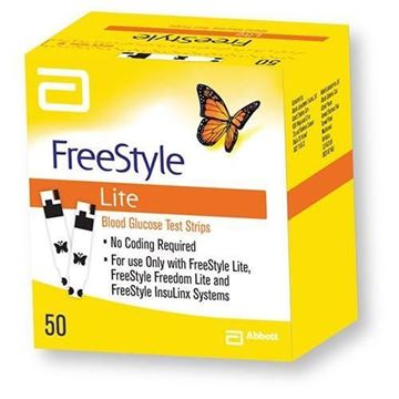 Picture of FreeStyle Lite Test Strips