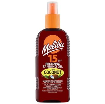Picture of Malibu tanning oil spf 15 with coconut
