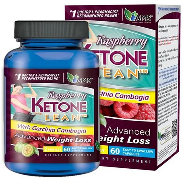 Picture of AMS Rasberry Ketone Lean 60 Capsules