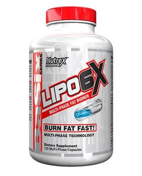 Picture of Lipo 6-X Burn Fat Fast 120 Capsules
