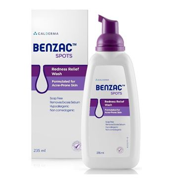 Picture of Benzac Spots Redness Relief Wash 235 ml