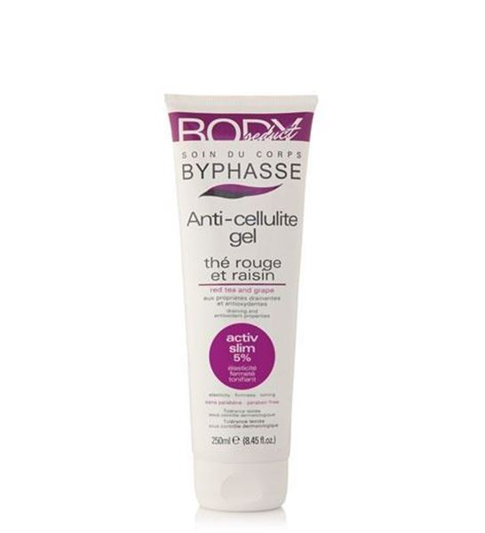 Picture of Byphasse Body Slim Anti-Cellulite Gel Red Tea And Grape 250ml