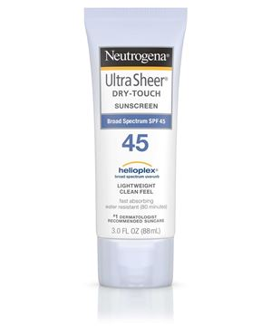Picture of Neutrogena Ultra Sheer sunscreen SPF45