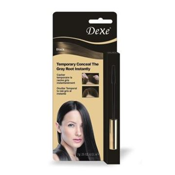 Picture of Dexe instant touch up to cover gray no.2 darkbrown