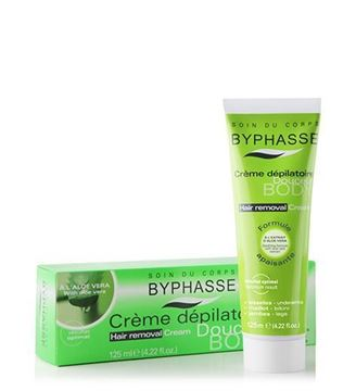 Picture of Byphasse Hair Removal Cream Aloe Vera 125ml