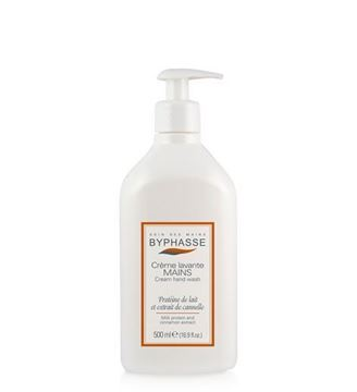 Picture of Byphasse Liquid Cream Hand Wash Milk Protein And Cinnamon Extract 500ml