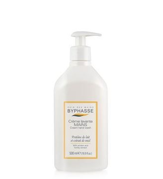 Picture of Byphasse Liquid Cream Hand Wash Milk Protein And Honey Extract 500ml