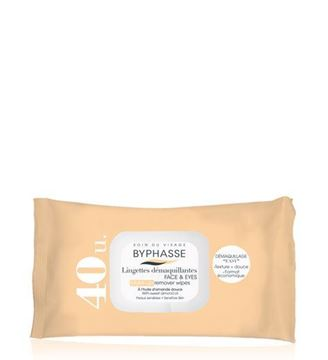 Picture of Byphasse Make-up Remover Wipes Sweet Almond Oil 40wipes.