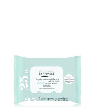 Picture of Byphasse Make-up Remover Wipes Aloe Vera 25wipes.